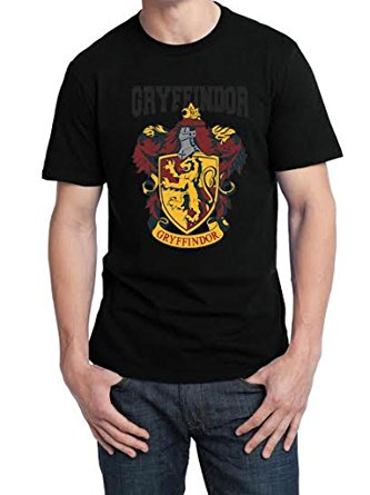 gryffindor logo harry potter t-shirt