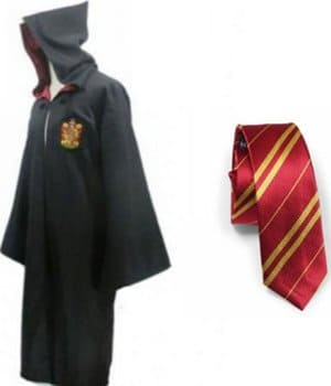 Harry Potter And The Sorcerer Stone Robe Cloak With Tie