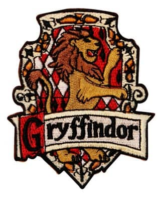 Harry Potter House of Gryffindor Crest
