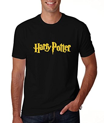 harry potter mens balck t-shirt