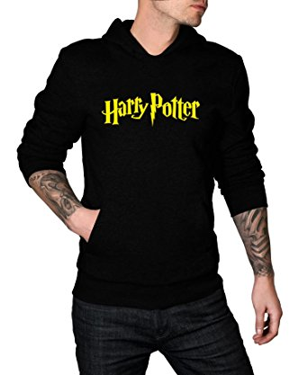 harry potter mens black hoodie