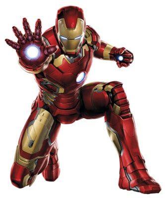 iron man costume suit shirt and merchandise