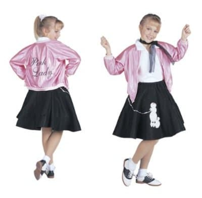 Pink Ladies Toddler Costume