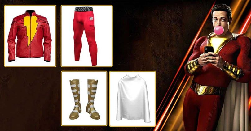 Shazam movie costumes