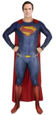 Superman Man of Steel Henry Cavil Suit