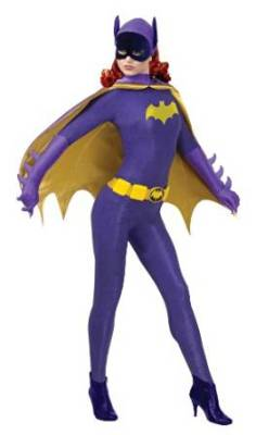 Batgirl Purple Adult Costume