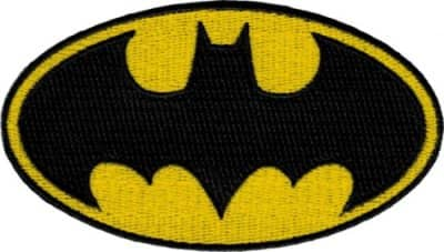 Black Batgirl Child Patch
