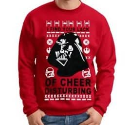 Darth Vader Lack of Cheer Sweater