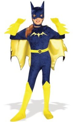 Batgirl Purple Child Costume