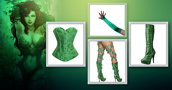 How To Make Sexy Poison Ivy Costume
