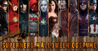 Superhero Halloween Costumes 375x195
