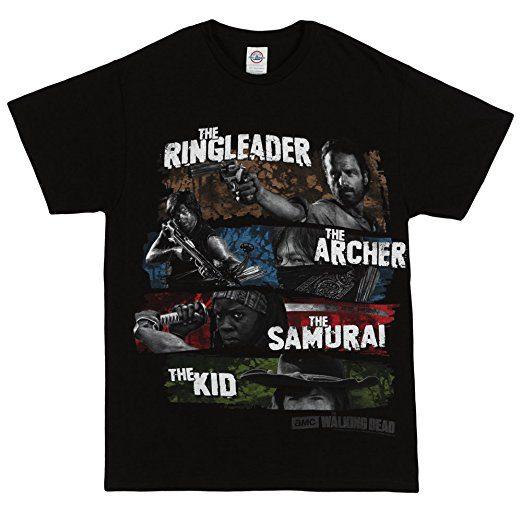 the-walking-dead-four-survivors-adult-t-shirt