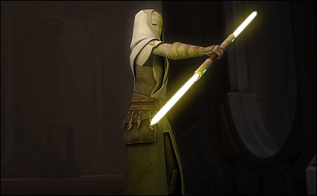 the-yellow-lightsabers