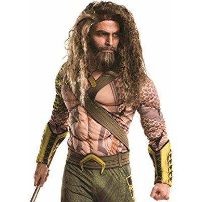 aquaman wig and beard