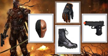 Death Stroke Costume 375x195