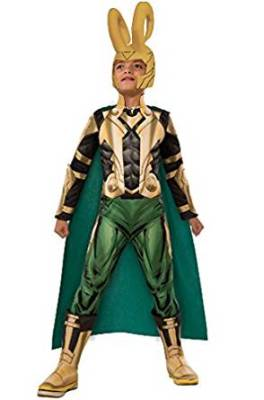 loki kids costume