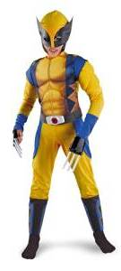 wolverine comic costume-kids