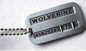 wolverine dog pandent