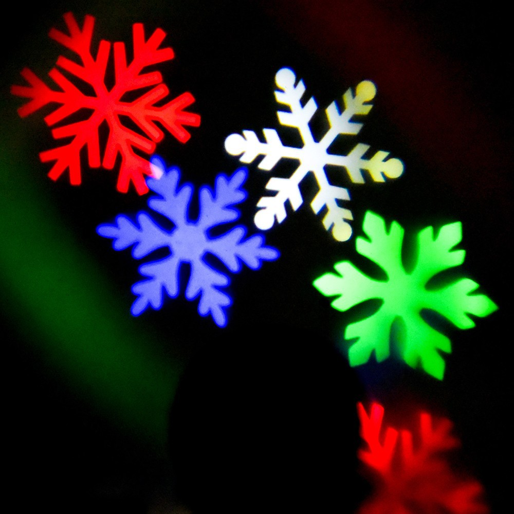 landscape spotlight waterproof christmas holiday lights party lighting outdoor led for sparkling white snowflake kohree pattern light projector projection products