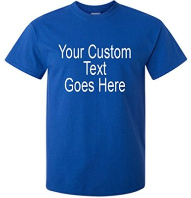 Blue Shirt for Personalizing