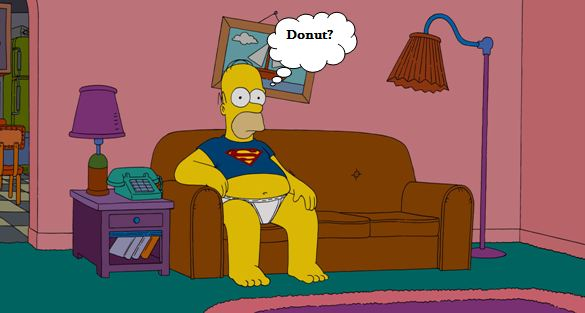 homer-in-superman-shirt
