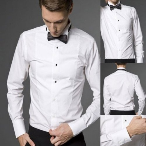 Tuxedo Shirt Build Luxurious Personality With Add Ons