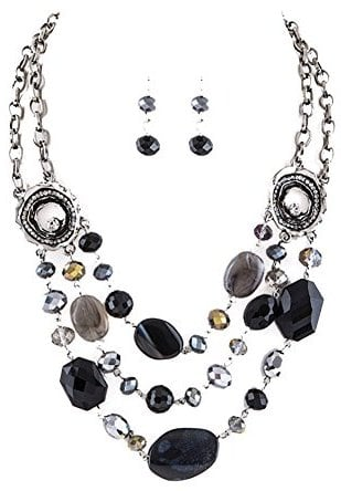 Bundle Earrings Set and Necklace