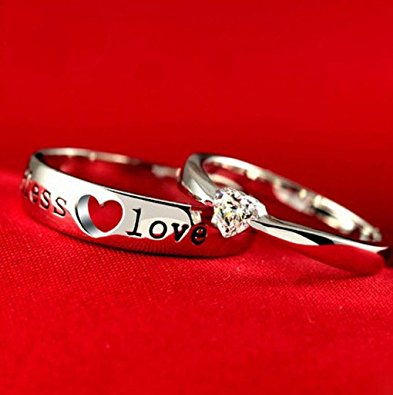 Endless Love engraved Ring