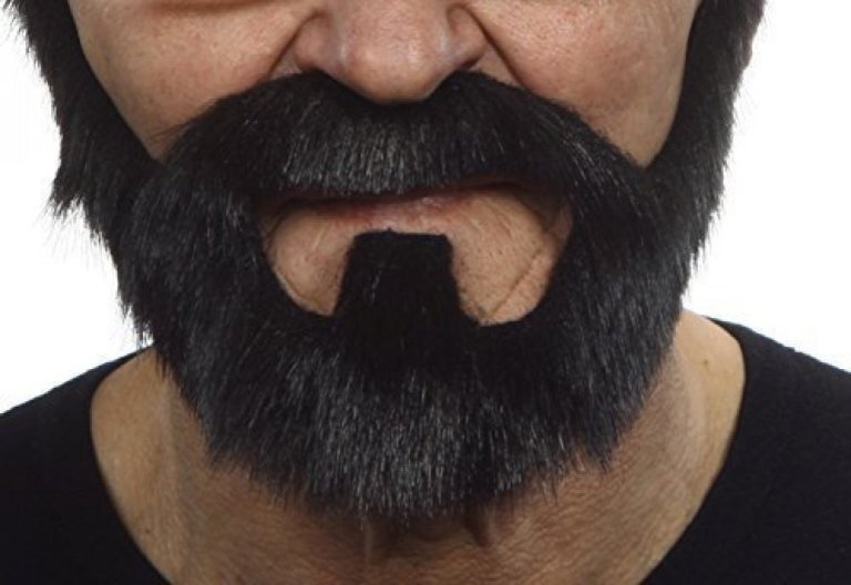 Fake Wolverine Beard