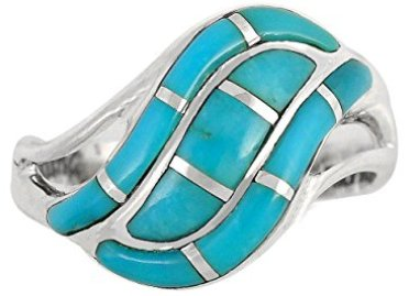 genuine-turquoise-silver-ring
