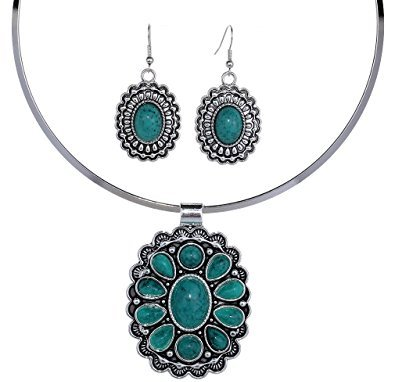 Green Turqouise Jewelry Set