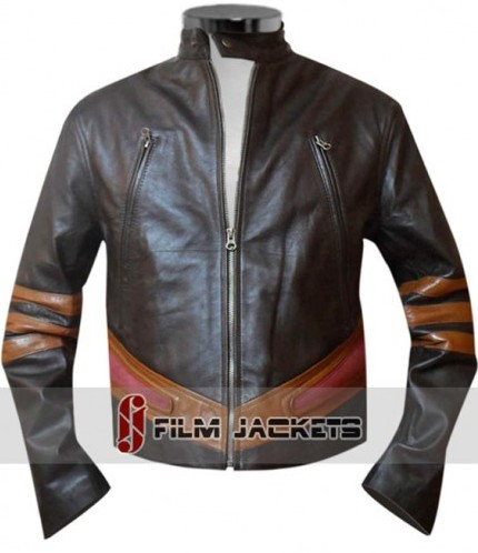 Huge Jackman Leather Jacket Xmen 2