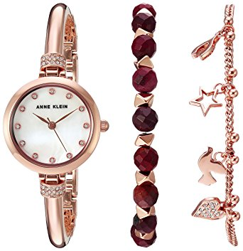 Jasper Beaded Bracelet Set and Watch