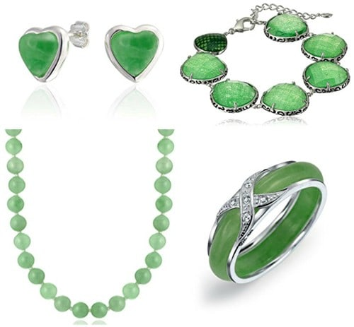 Modern Jade Jewelries