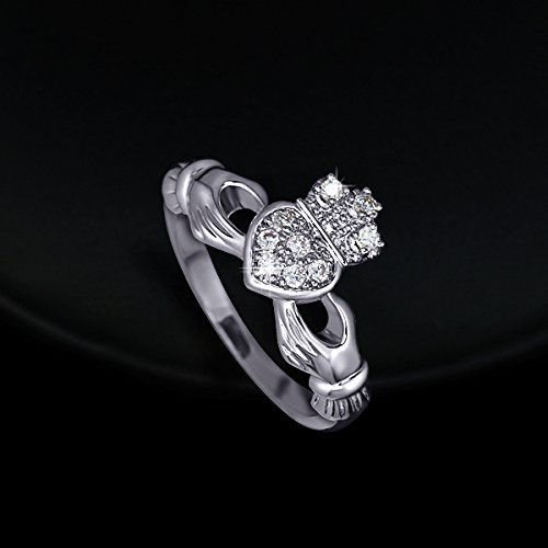 Princess Crown Love Friendship Ring