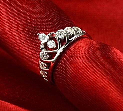 Princess Crown Ring for Fashion