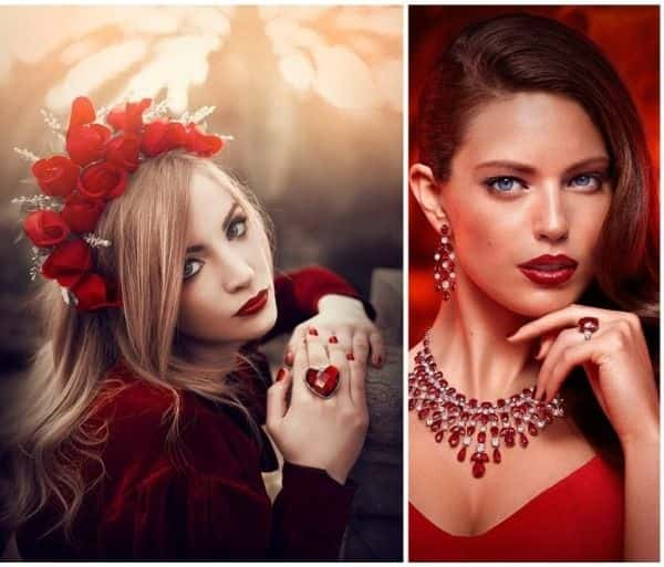 Scarlet and Red Gems