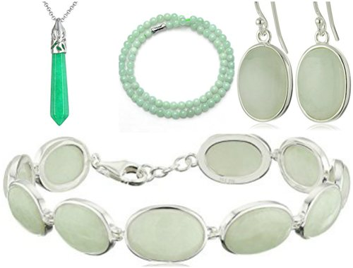 Simple Style Jade Collection for aged folks