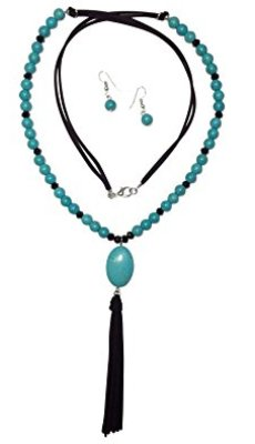 turquoise-beaded-necklace-earring