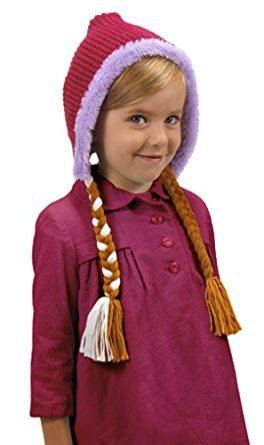Anna Snow cap with braids