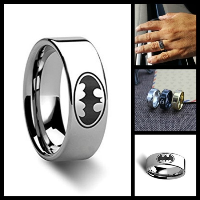 batman wedding ring show heroic and devotion