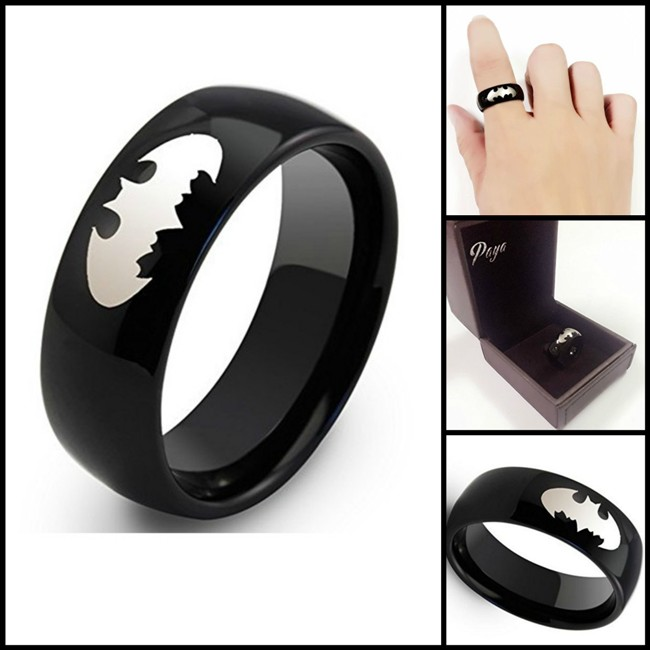 Batman Wedding Ring Show Heroic Love and Devotion