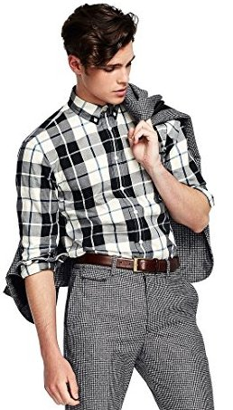 Flannel shirts ultimate styles to wear this season for White flannel shirt mens