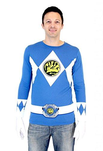 Blue Ranger Full Sleeves Shirt