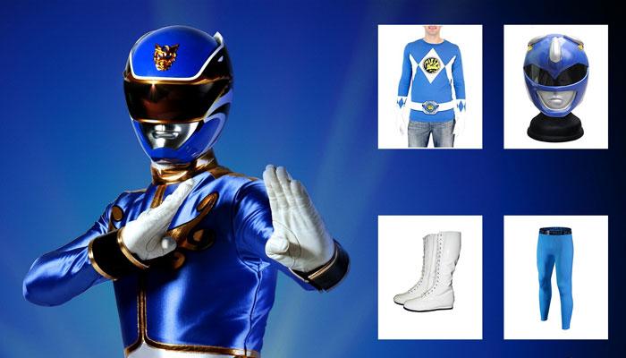 Power Ranger Costume Shirt Hoodie Gloves Amp Helmet