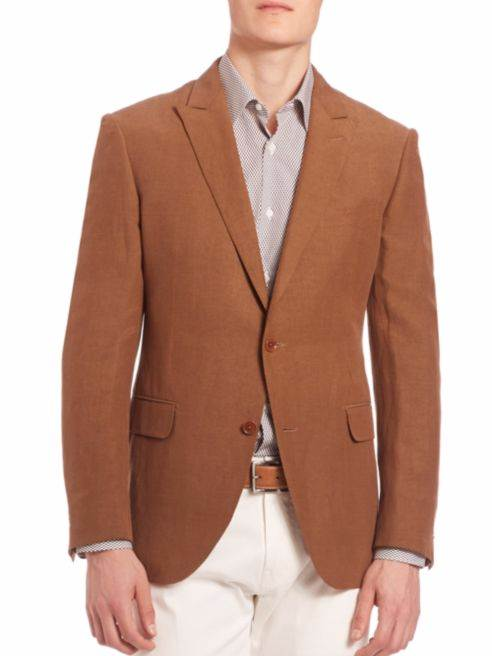 Charles Xavier Logan Brown Blazer
