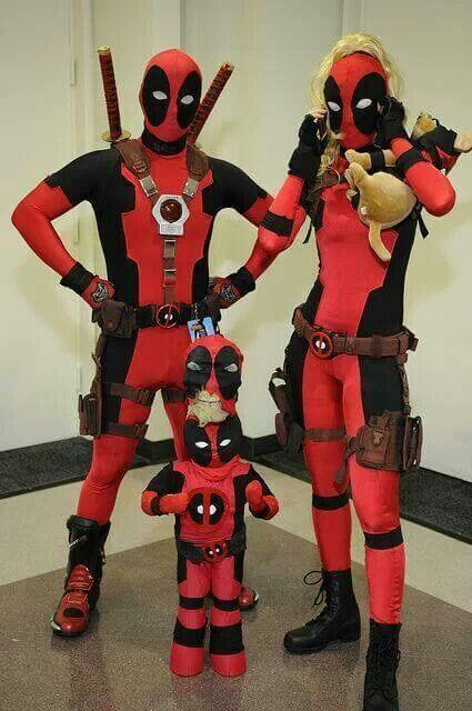 Deadpool Family Costume