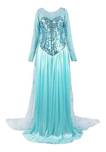 Elsa Frozen Adult blue Dress