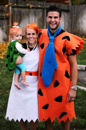 Flinstone Family Costume IDea