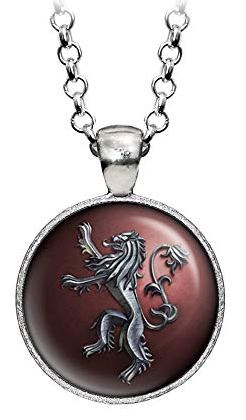 Game of Thrones Lannister Lion Necklace